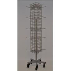 Spjutställ i tråd 3-sidigt inklusive standardspjut
