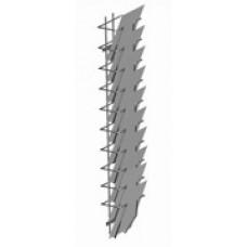 Broschyrställ A4-10 fack väggställ